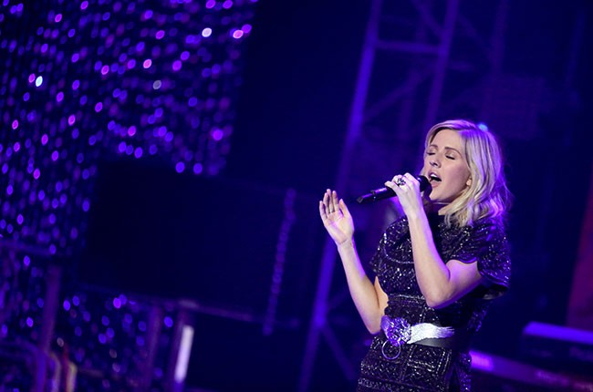 Ellie Goulding  performs at Dick Clark's New Year's Rockin' Eve