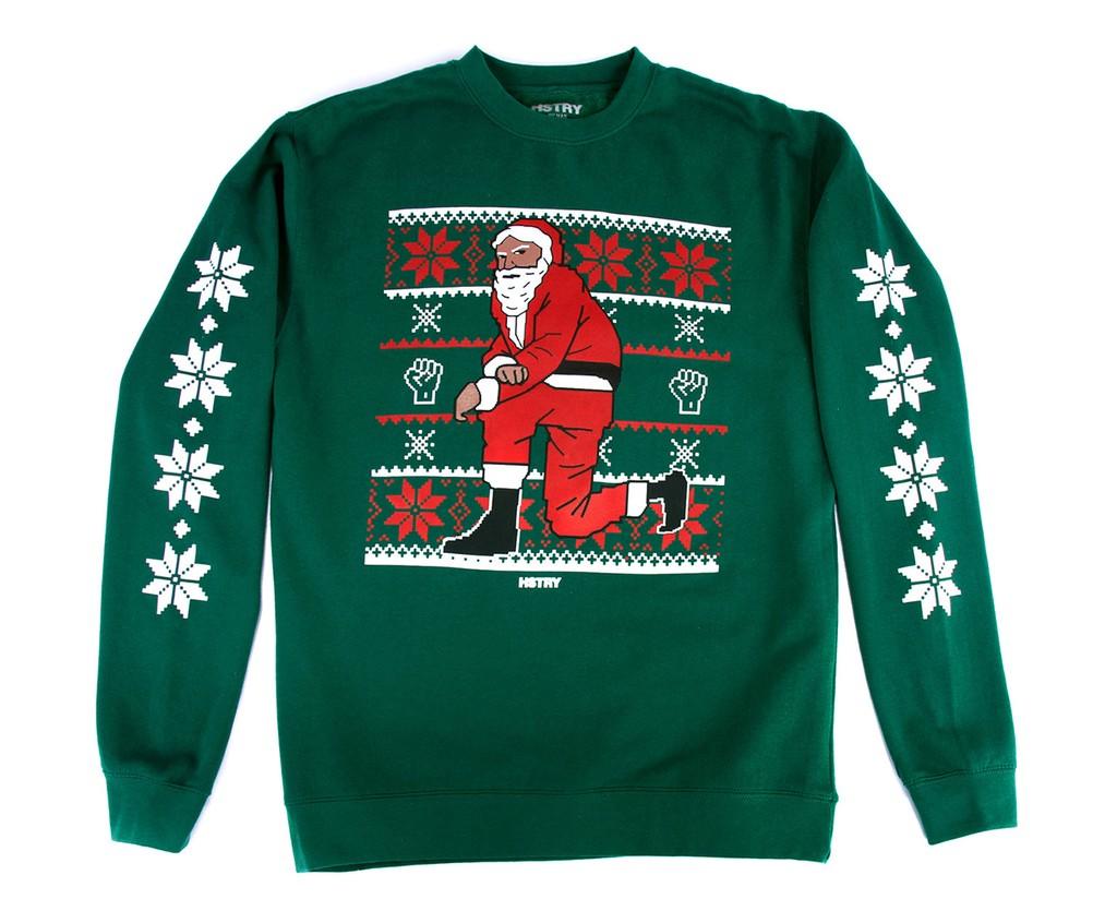 "Nas ""Kneeling Santa"" Sweatshirt"