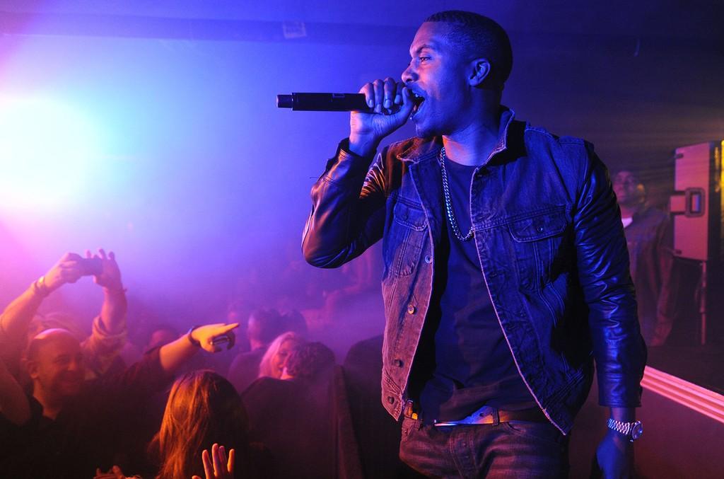 Nas performs at TAO Nightclub Sundance on Jan. 19, 2013 in New York City.
