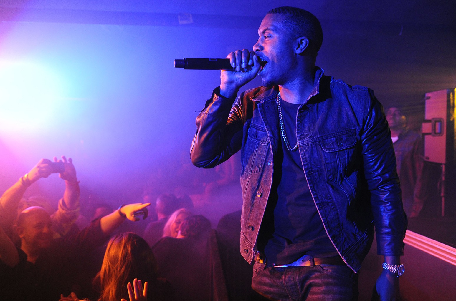Nas performs at TAO Nightclub Sundance on Jan. 19, 2013 in New York City.