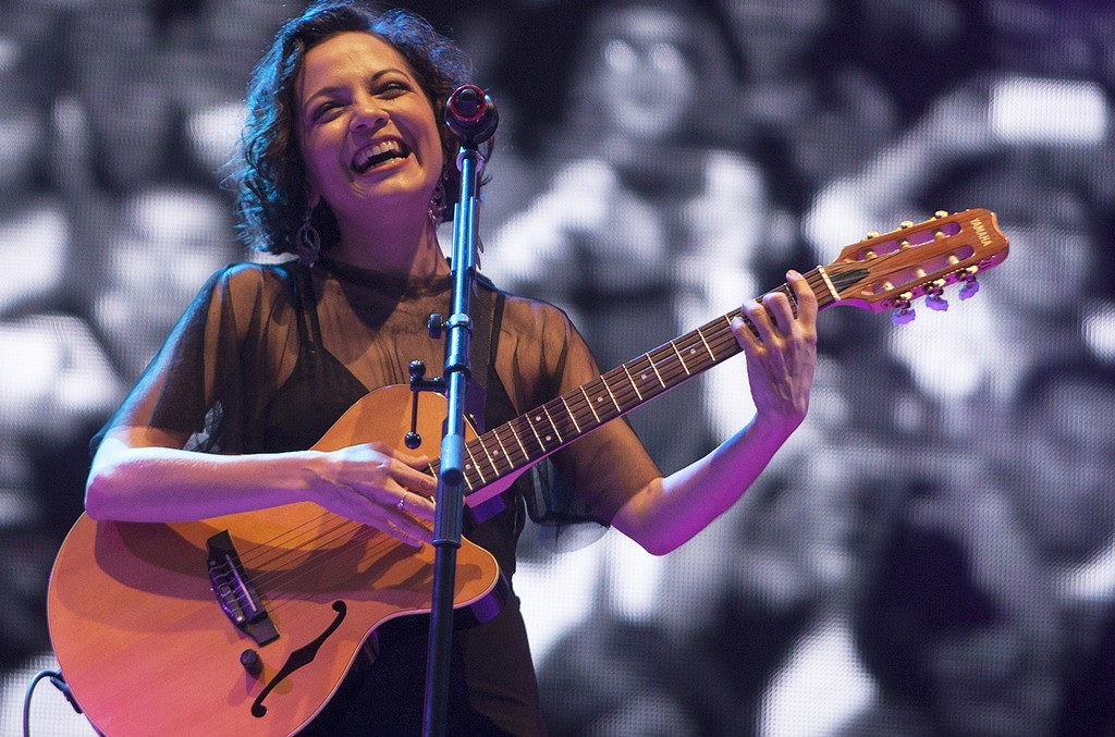 Natalia Lafourcade at the 2016 Festival Pal Norte