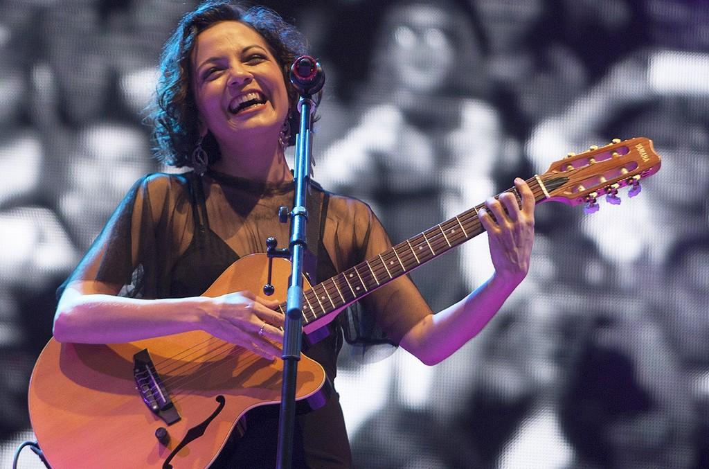 Natalia LaFourcade performs in 2016