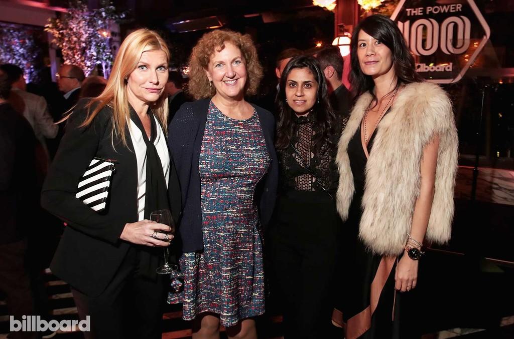 Natalia Nastaskin, Julie Swidler and guests attend 2017 Billboard Power 100 - Inside at Cecconi's on Feb. 9, 2017 in West Hollywood, Calif.
