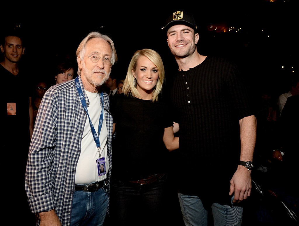 Neil Portnow, Carrie Underwood and Sam Hunt