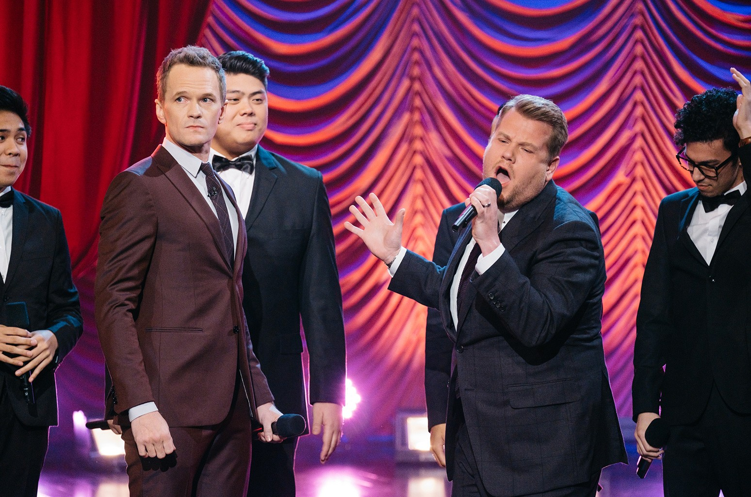 Neil Patrick Harris on 'The Late Late Show with James Corden' on Jan. 9, 2017.