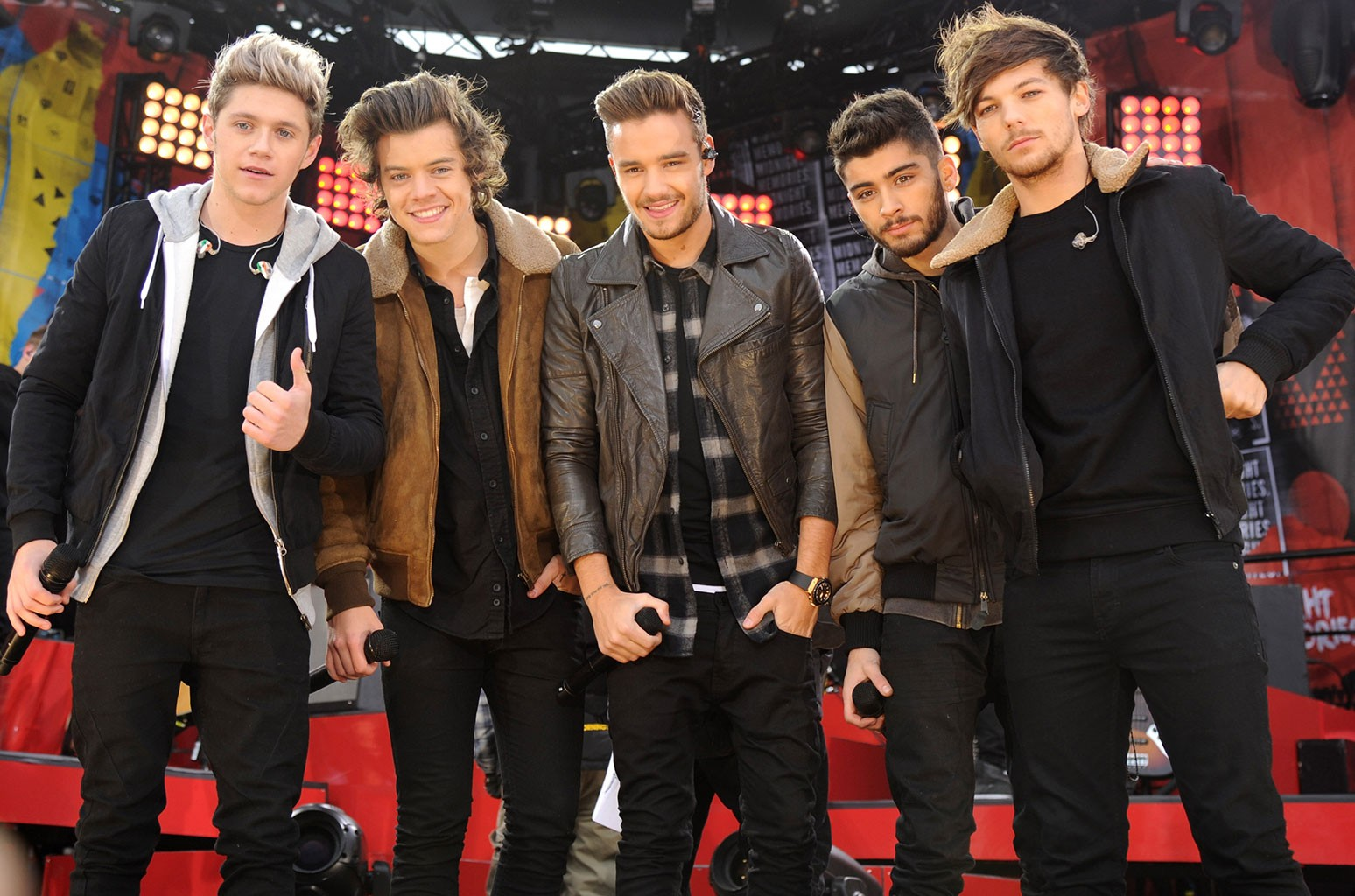 Niall Horan, Harry Styles, Liam Payne, Zayn Malik and Louis Tomlinson of One Direction
