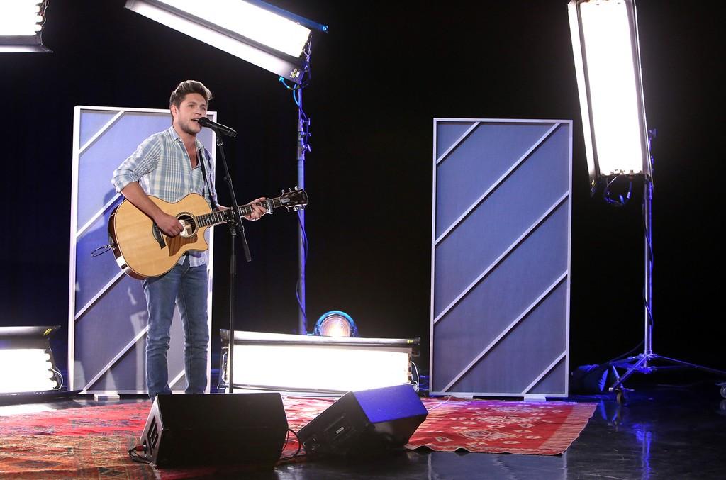 """Niall Horan on """"The Ellen DeGeneres Show"""" on Oct. 26, 2016."""