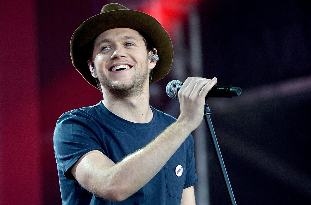 Niall Horan performs on stage during the One Love Manchester Benefit Concert at Old Trafford Cricket Ground on June 4, 2017 in Manchester, England.