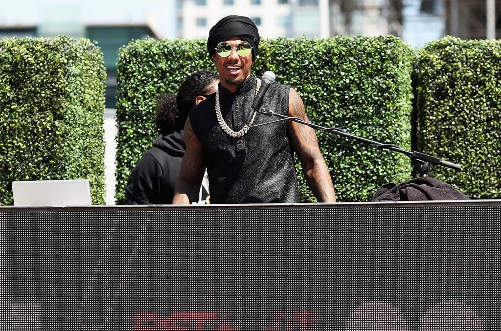 Nick Cannon performs at Live, Red, and Ready! Pre-Show at the 2017 BET Awards at Microsoft Square on June 25, 2017 in Los Angeles.