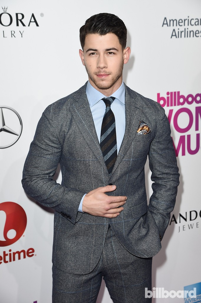 Nick Jonas attends the Billboard Women in Music 2016 event on Dec. 9, 2016 in New York City.