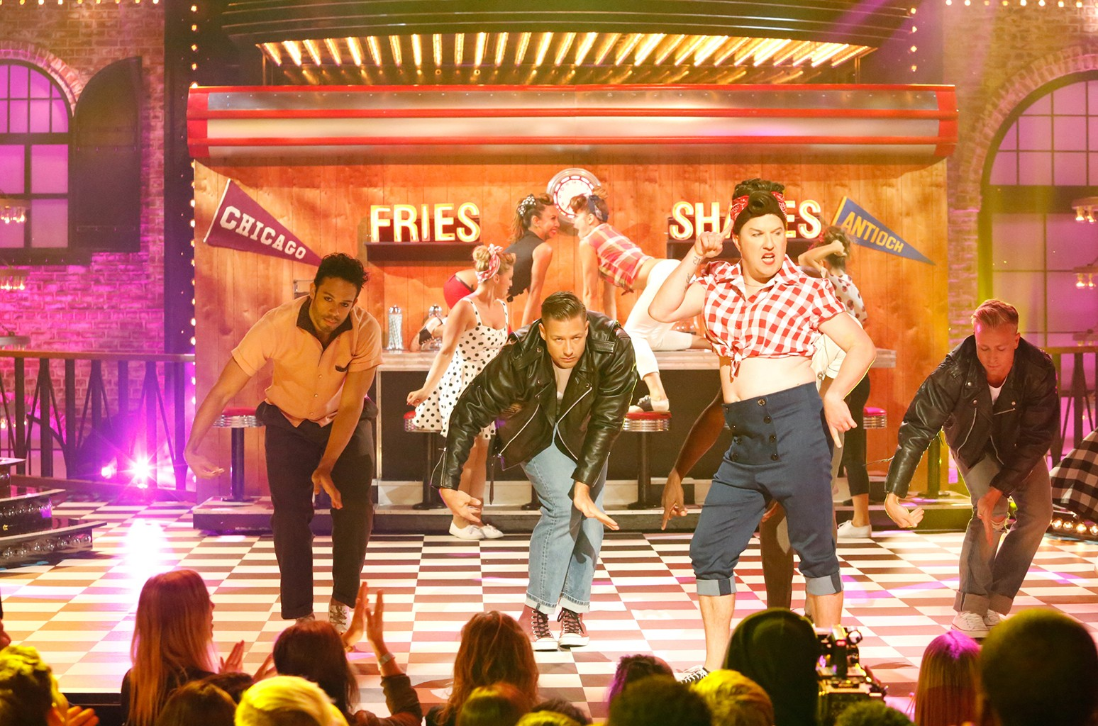 """Nick Swardson's performance of """"Ex's and Oh's"""" on Spike's """"Lip Sync Battle."""""""