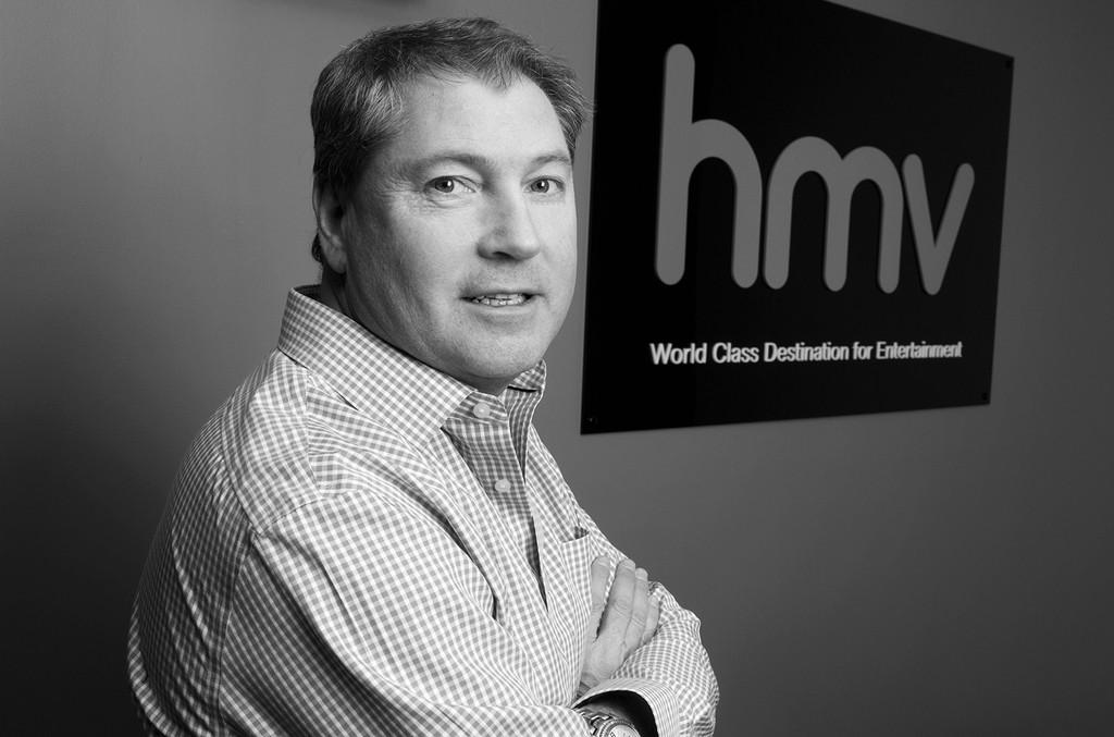 HMV CEO, Nick Williams