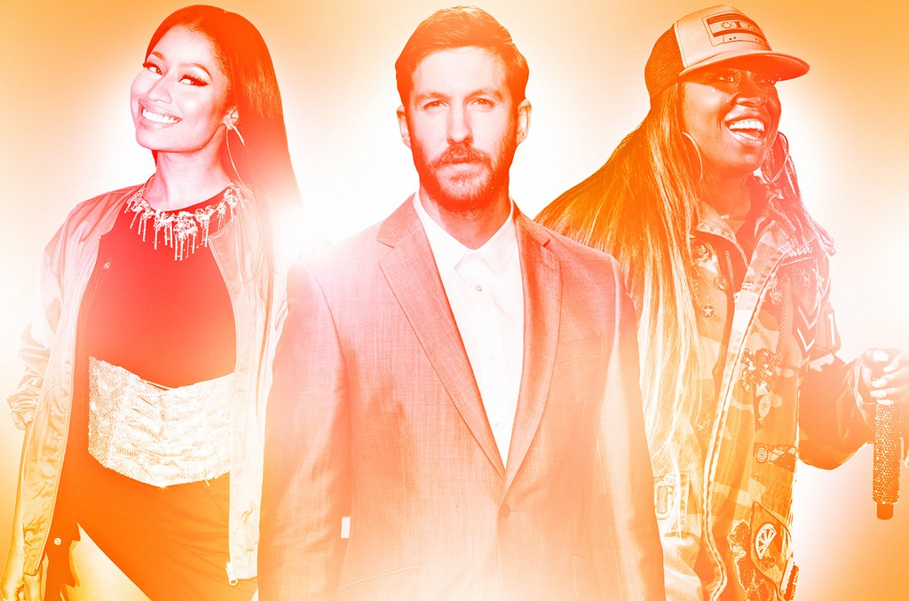 Nicki Minaj, Calvin Harris & Missy Elliot