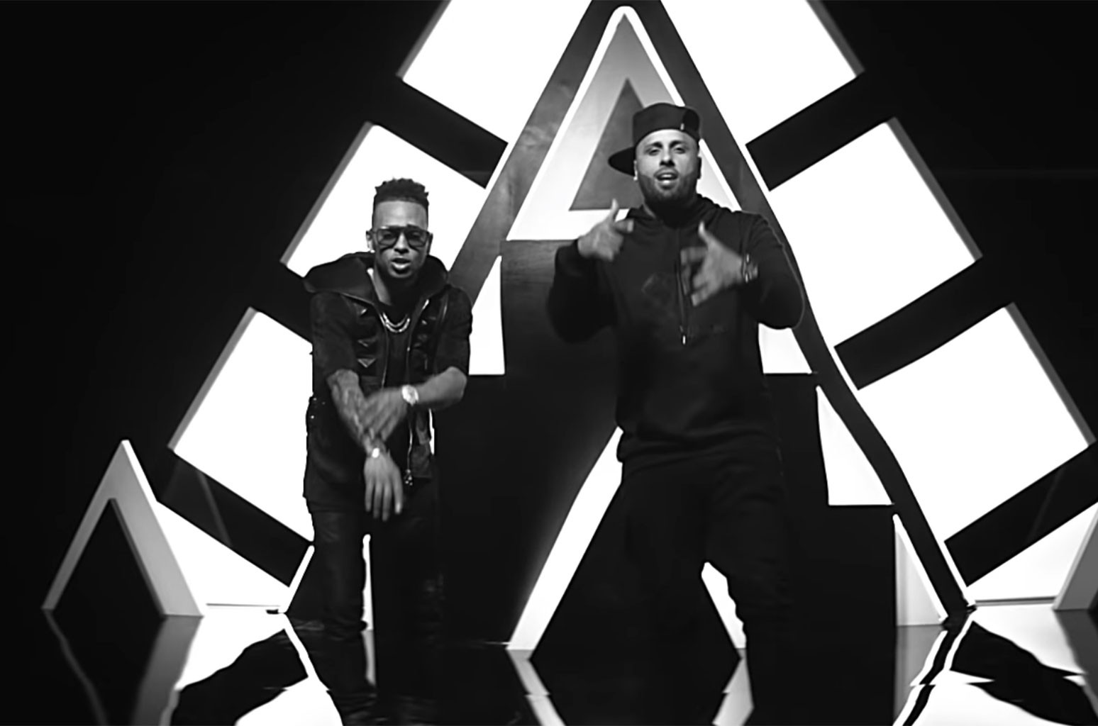 "Nicky Jam and Ozuna, ""Te Robaré"""
