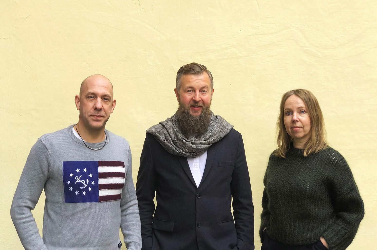 Niklas Ivarsson Pär Almqvist Petra Hansson