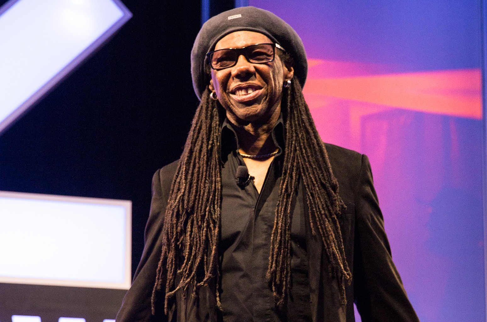 Nile Rodgers delivers his keynote speech at Austin Convention Center on March 15, 2017 in Austin, Texas.