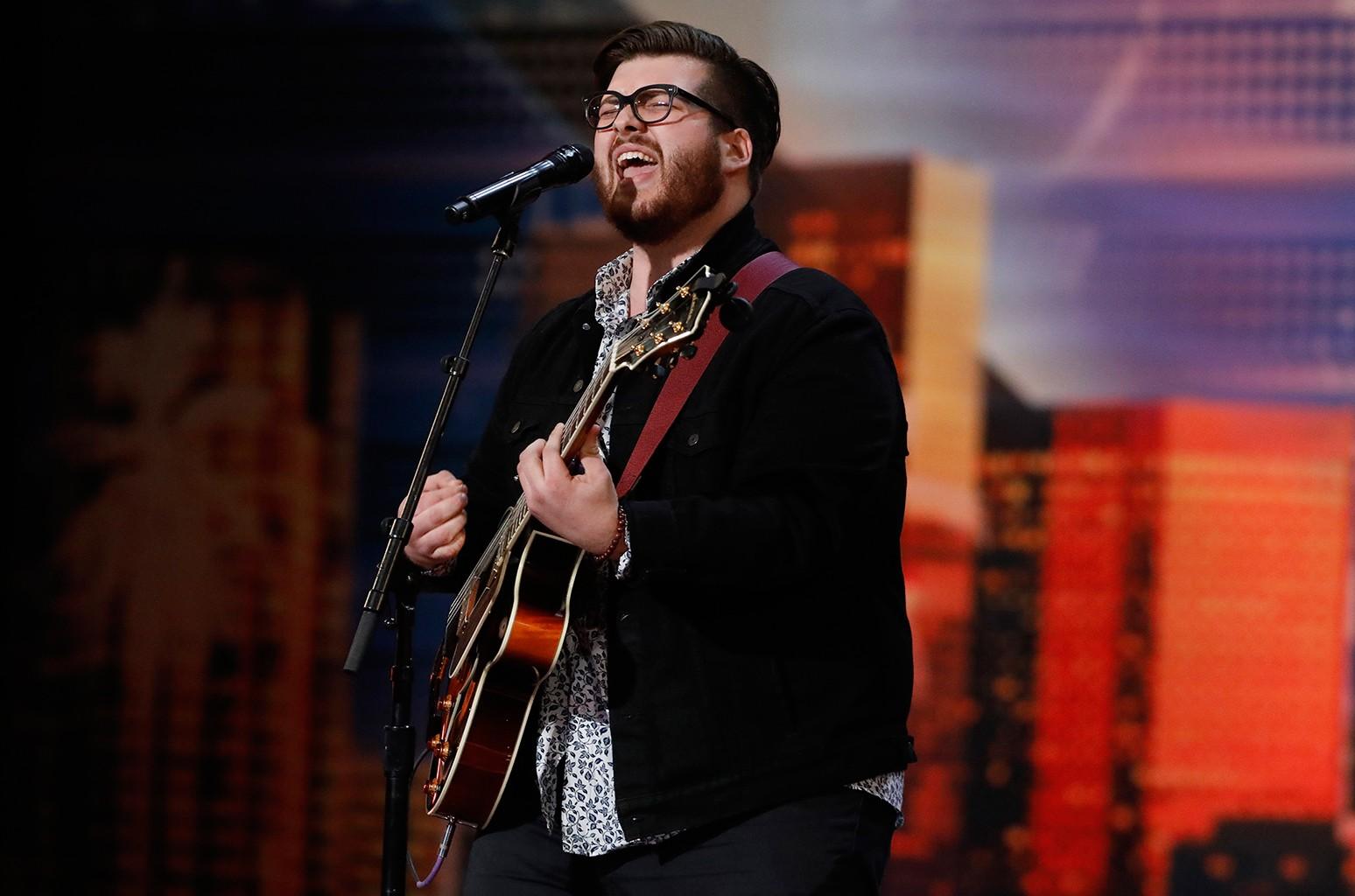 Noah Guthrie on America's Got Talent.
