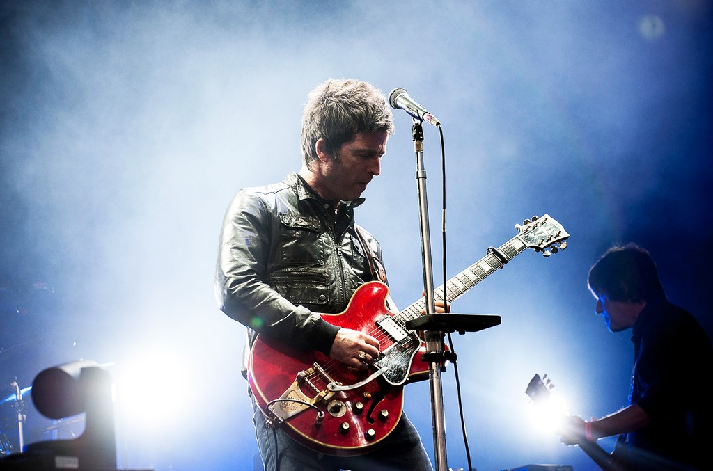 Noel Gallagher of Noel Gallagher's High Flying Birds, 2015