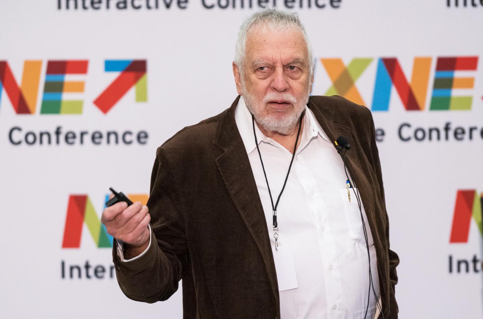 Nolan Bushnell at the NXNE Keynote