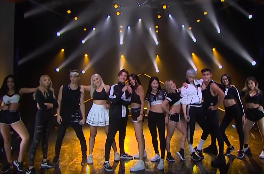 Now United performs on The Late Late Show with James Corden.