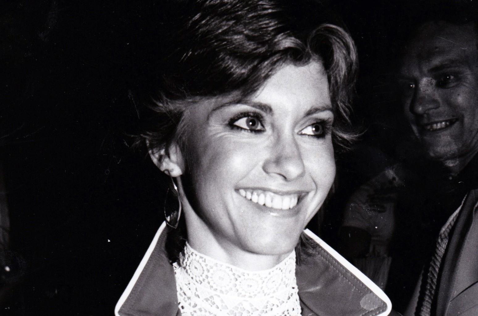 Olivia Newton John circa 1981 in New York.