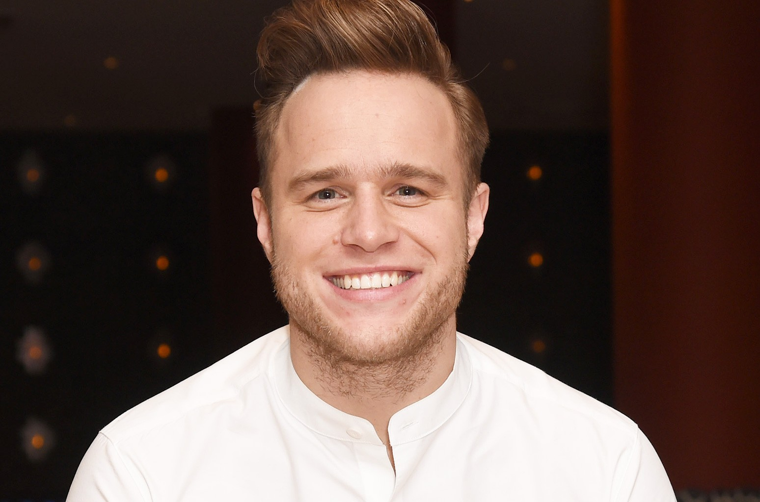 """Olly Murs attends the exclusive album playback of Olly Murs' new album """"24 HRS"""" at The Ham Yard Hotel on Oct. 20, 2016 in London, England."""