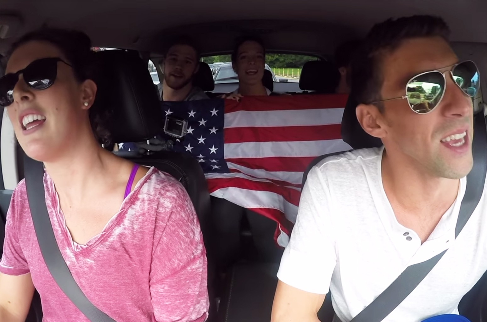 Olympic Carpool Karaoke