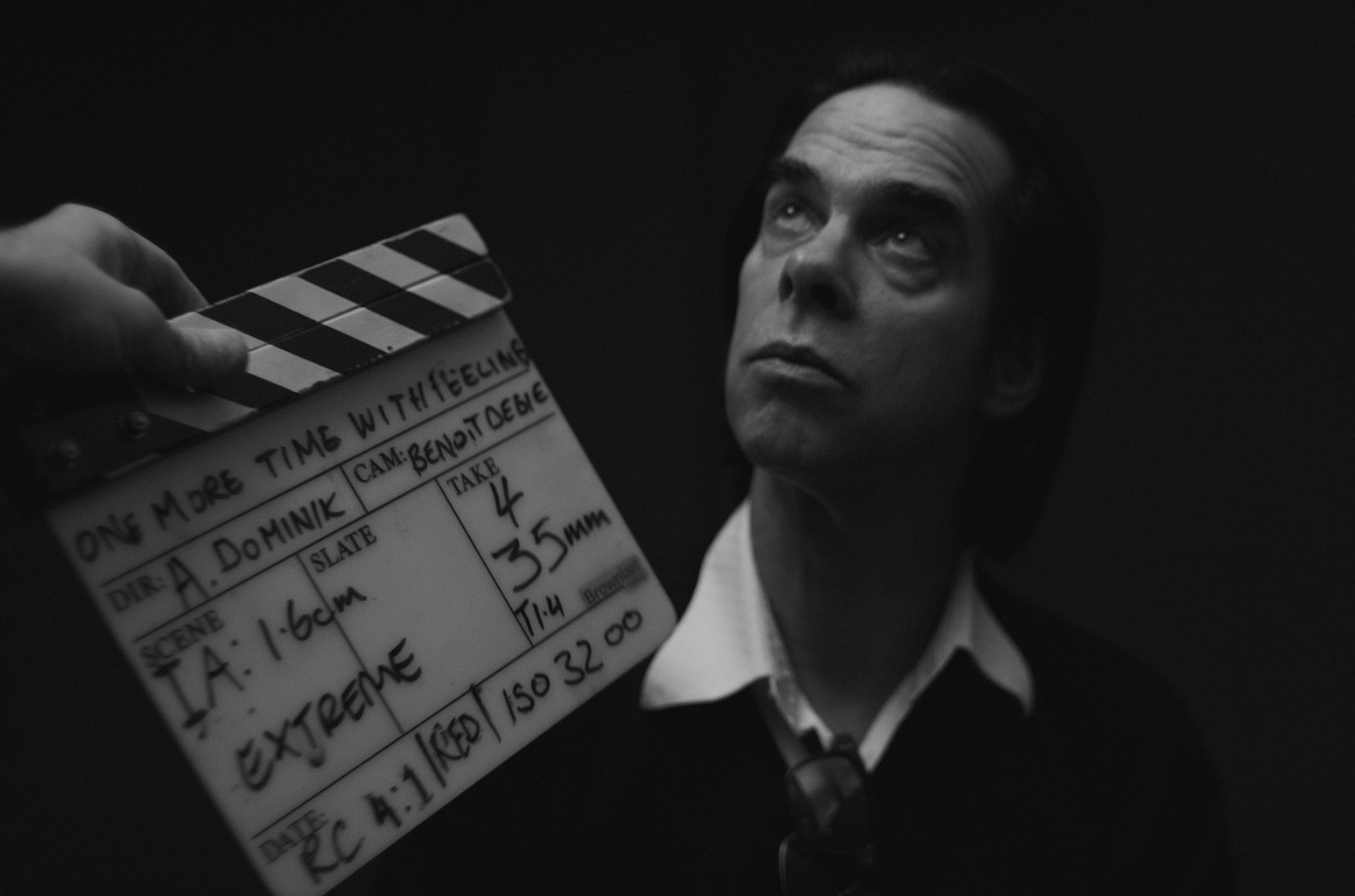 Nick Cave in 'One More Time With Feeling'