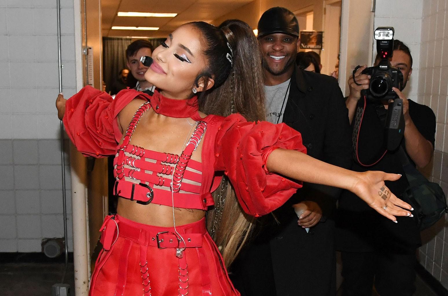 Ariana Grande Normani Embrace In New Flawless Portraits See The Pics Billboard Billboard