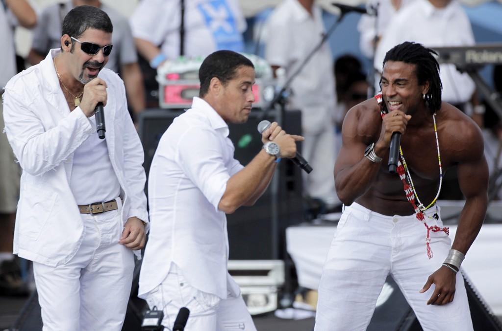 Orishas perform in Havana, Cuba