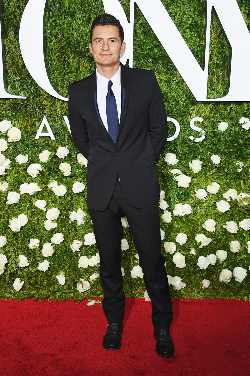 Orlando Bloom attends the 2017 Tony Awards at Radio City Music Hall on June 11, 2017 in New York City.