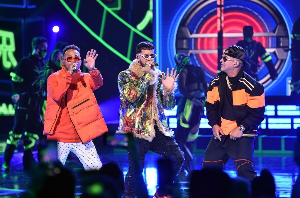 Ozuna, Anuel AA, and Daddy Yankee