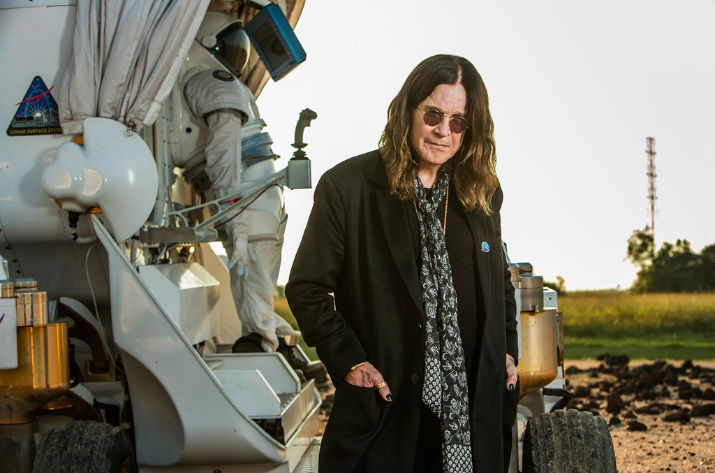 "Ozzy Osbourne on ""Ozzy & Jack's World Detour"" at NASA Johnson Space Center airing on July 31, 2016."