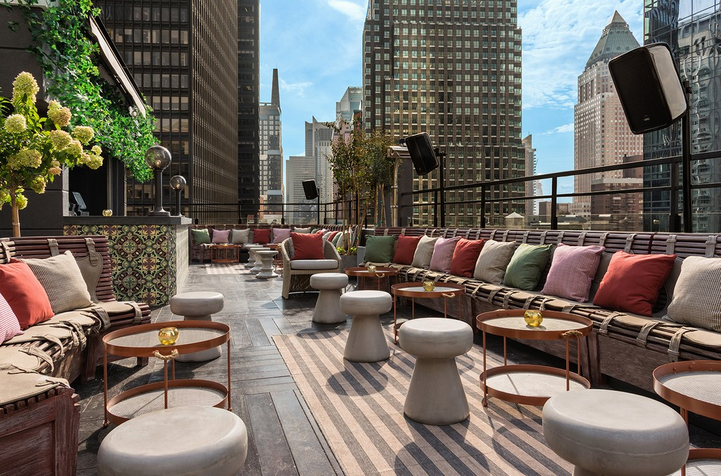 PHD Terrace at Dream Midtown in New York City