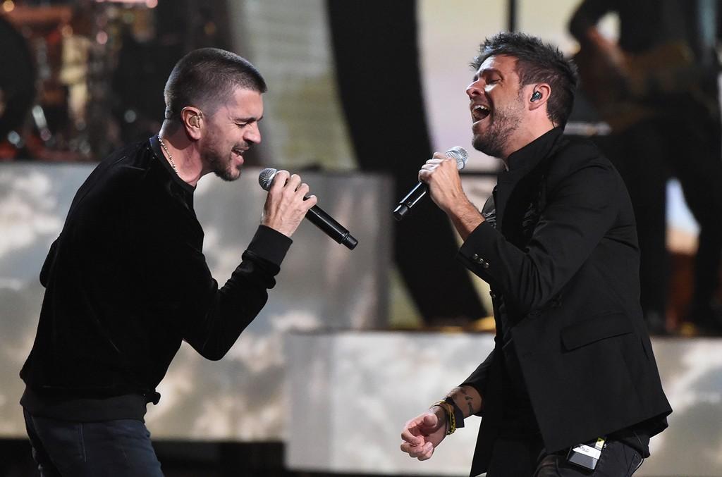 Pablo Lopez and Juanes