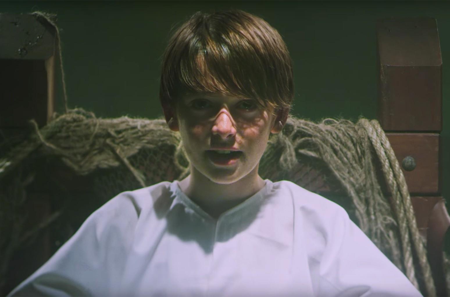 "Panic! At the Disco ft. Noah Schnapp, ""LA Devotee"""