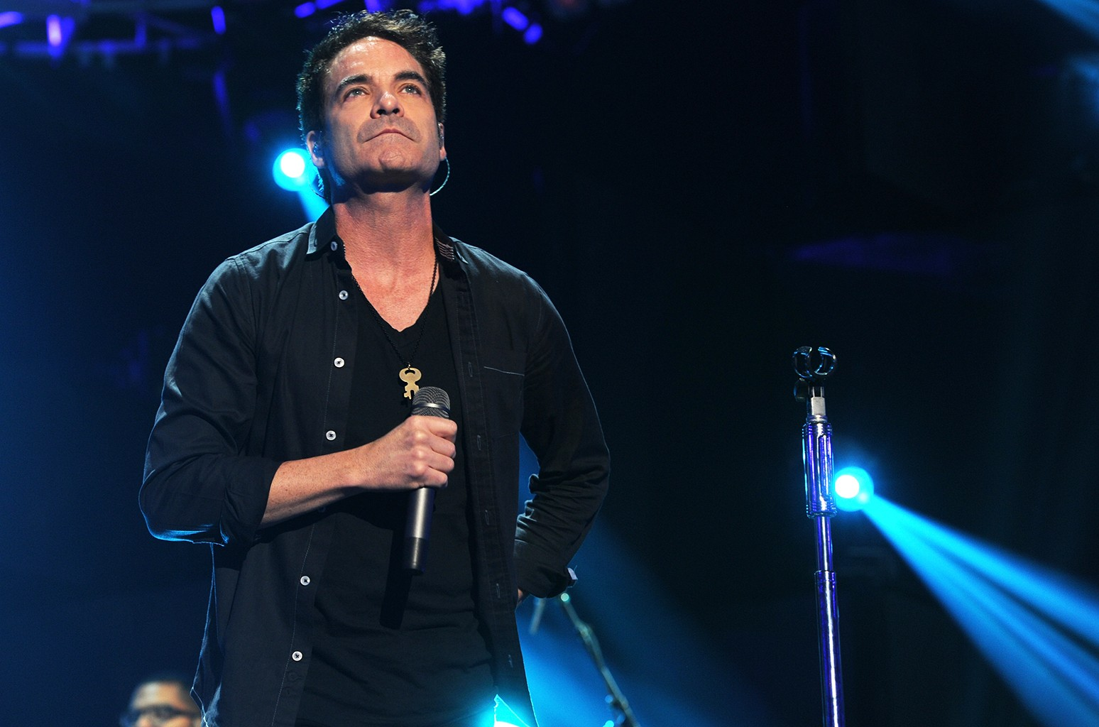 Train perform at the MGM Grand Garden Arena