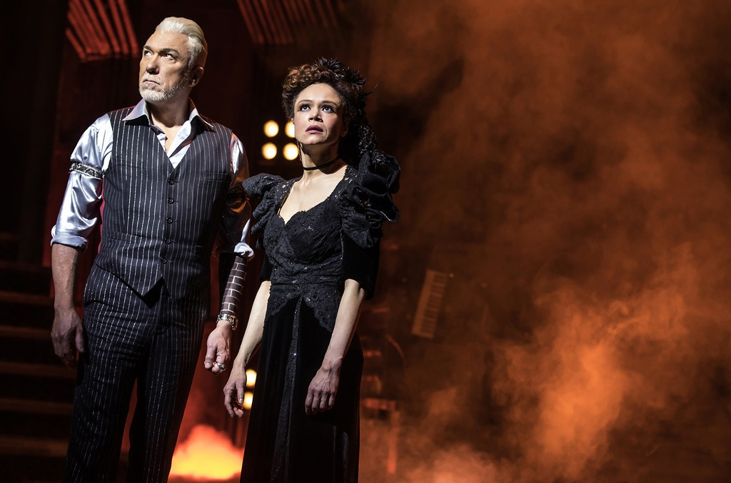 Patrick Page and Amber Gray