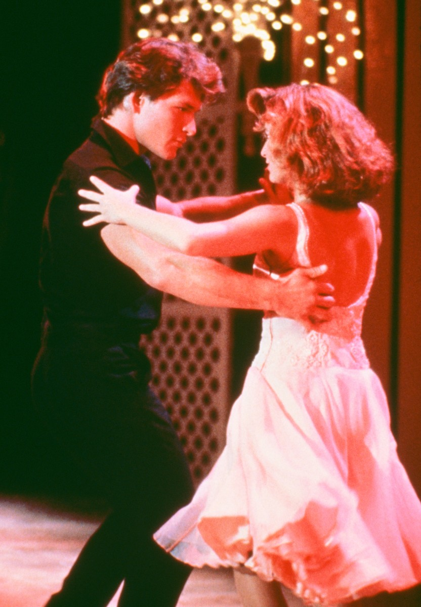 Patrick Swayze and Jennifer Grey star in the film 'Dirty Dancing', 1987.
