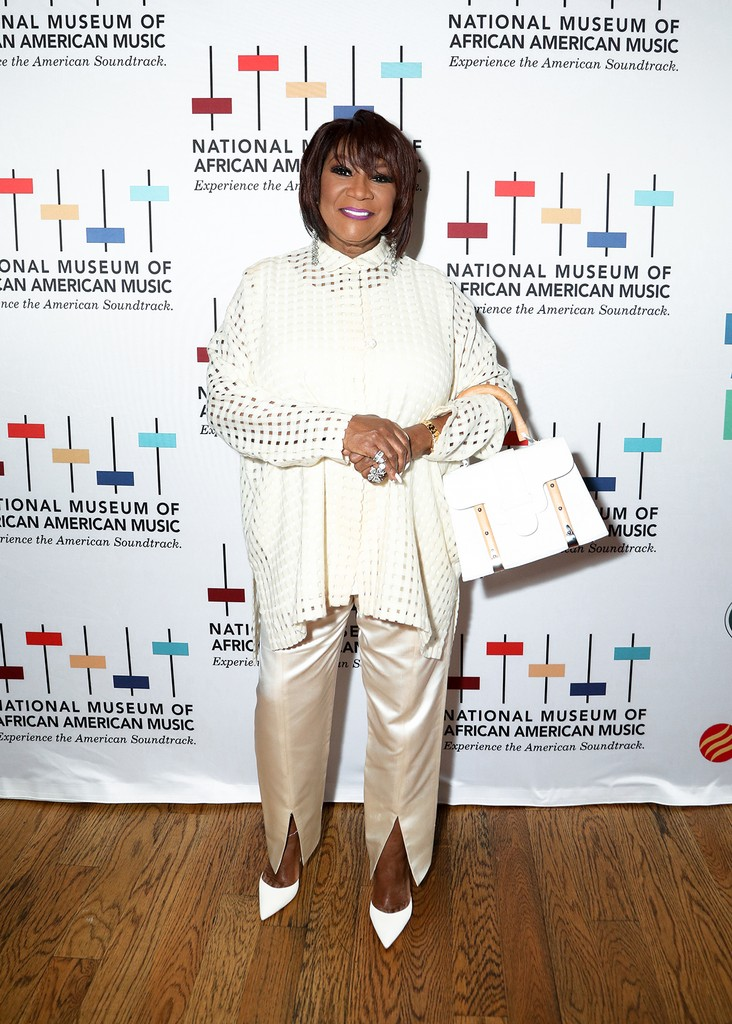 Patti LaBelle arrives to the 4th Annual My Music Matters: A Celebration Of Legends Lunch at City Winery Nashville on June 1, 2017 in Nashville, Tenn.