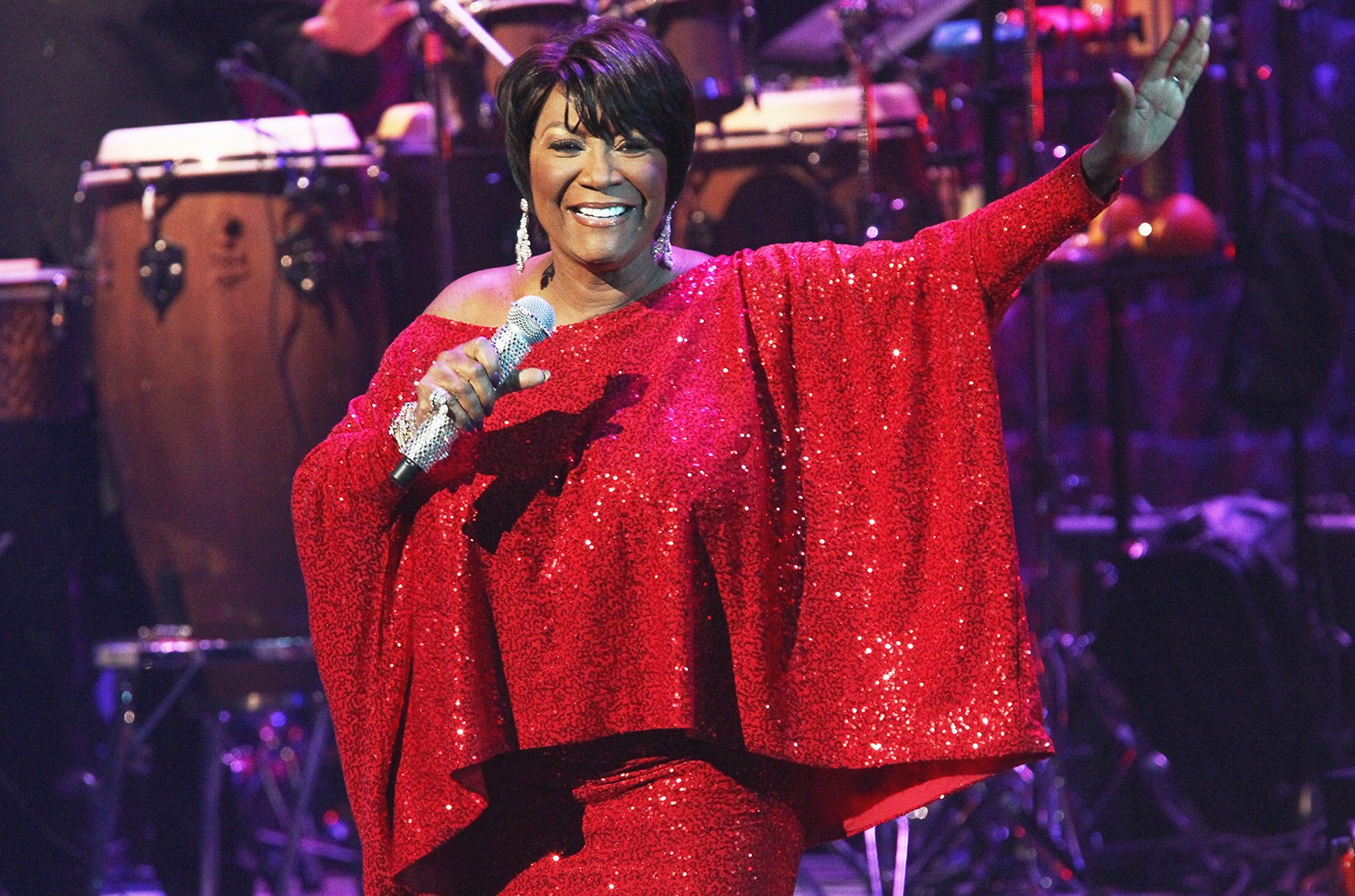 Patti LaBelle performs at the Dolby Theatre on Nov. 30, 2016 in Hollywood, Calif.