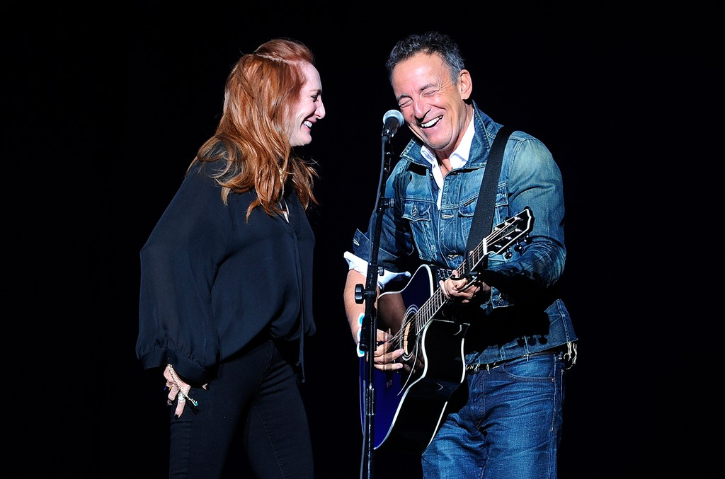 Patti Scialfa and Bruce Springsteen