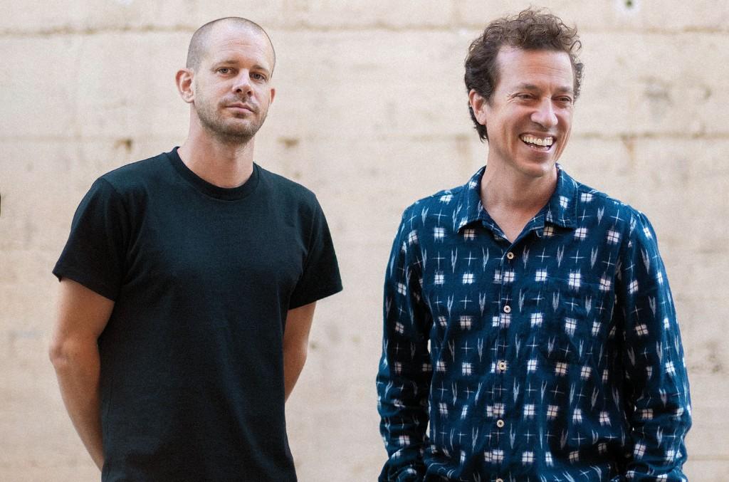 Paul Devro and Jasper Goggins