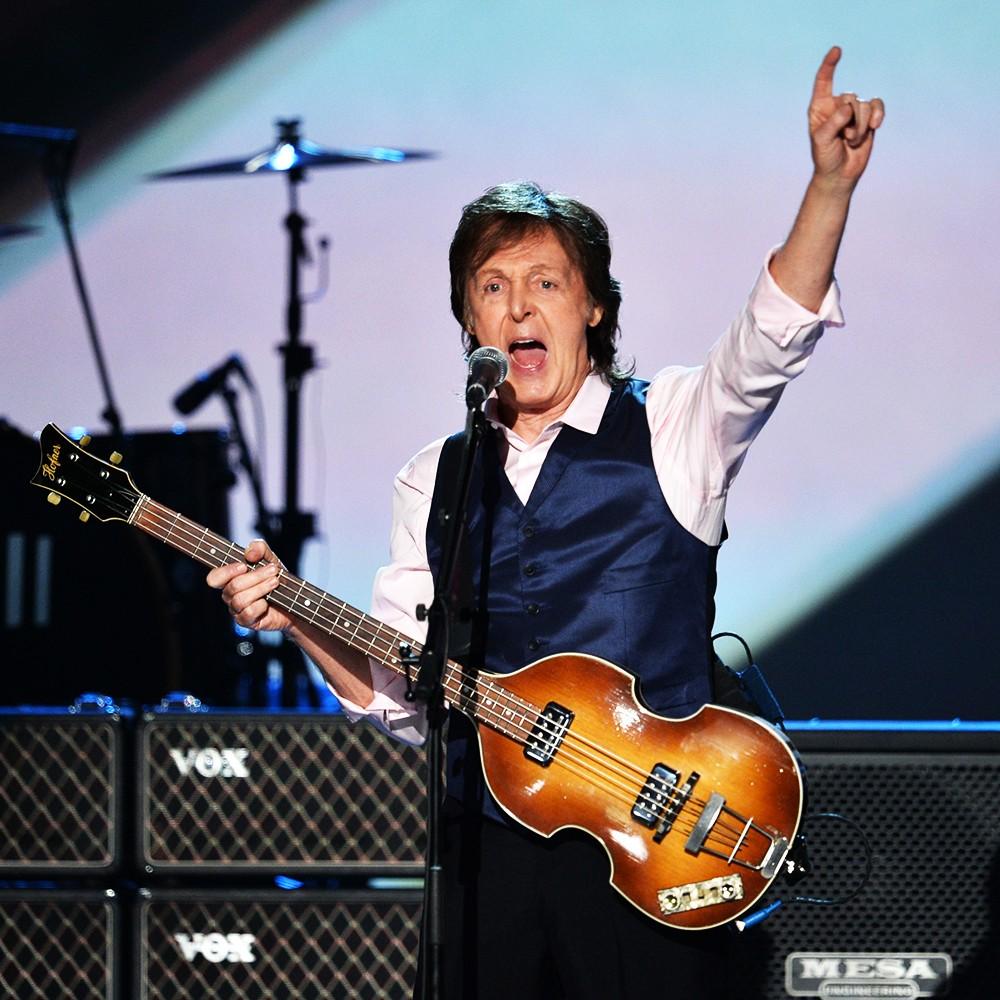 Paul McCartney, the beatles, 2014
