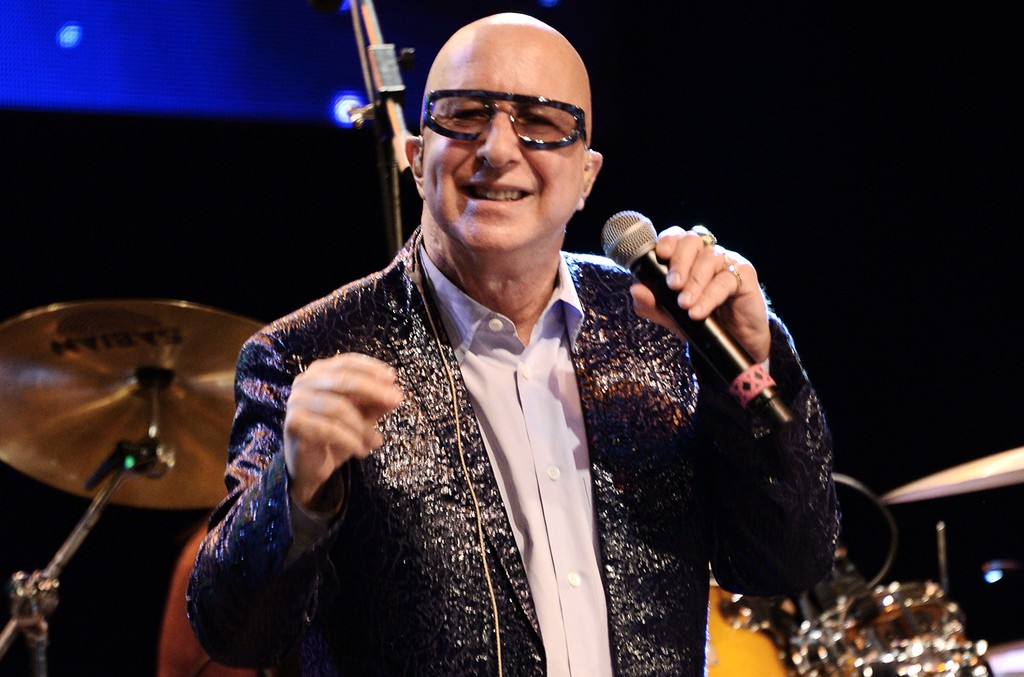Paul Shaffer performs during the 2016 City Parks Foundation Gala at Rumsey Playfield, Central Park on June 20, 2016 in New York City.