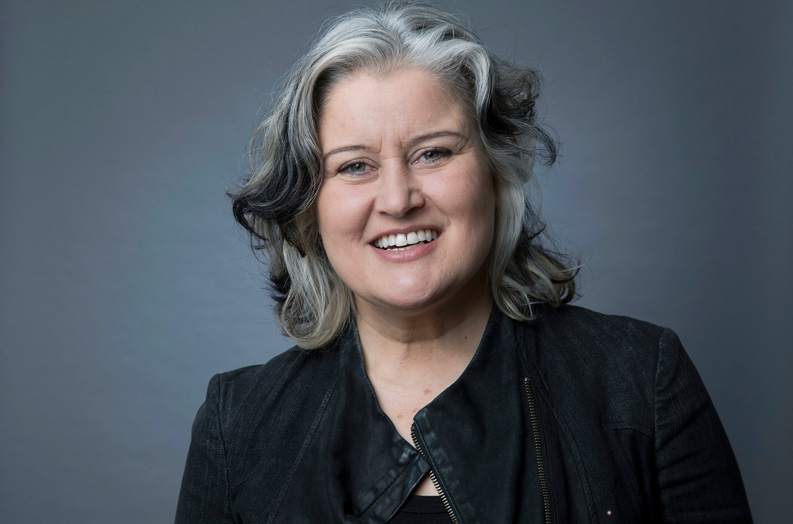 """Paula Cole poses for a portrait in New York to promote her album """"Ballads,"""" a collection of 20 jazz covers."""