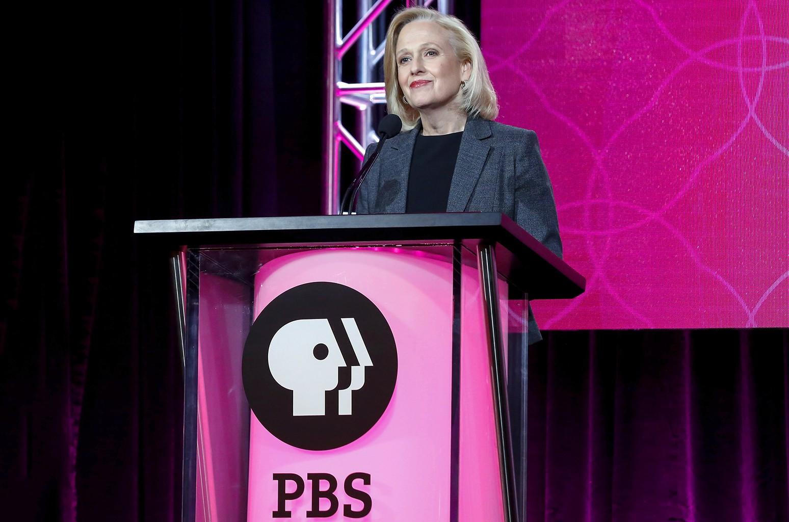 PBS President and CEO Paula Kerge