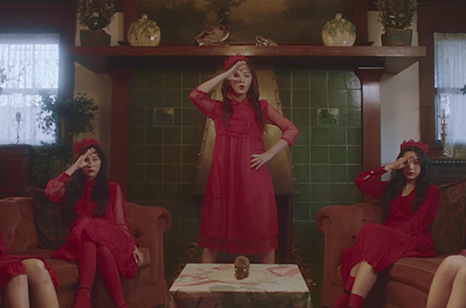 """Red Velvet """"Peek-A-Boo"""""""