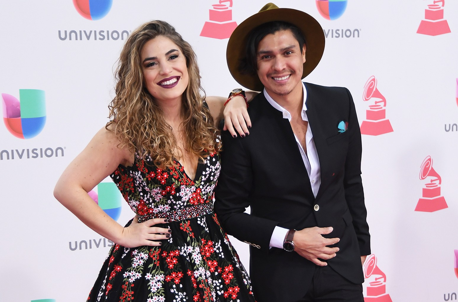 Periko and Jessi Leon attend The 17th Annual Latin Grammy Awards at T-Mobile Arena on Nov. 17, 2016 in Las Vegas.
