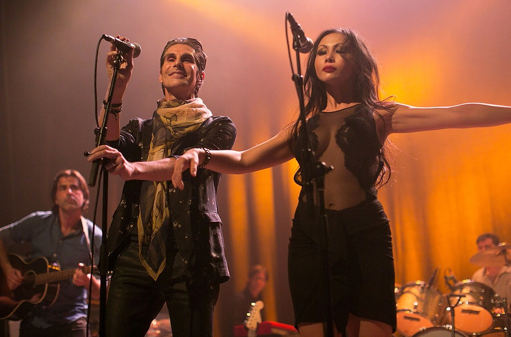 Perry Farrell and Etty Lau Farrell perform at The Best Fest Presents Fleetwood Mac Fest